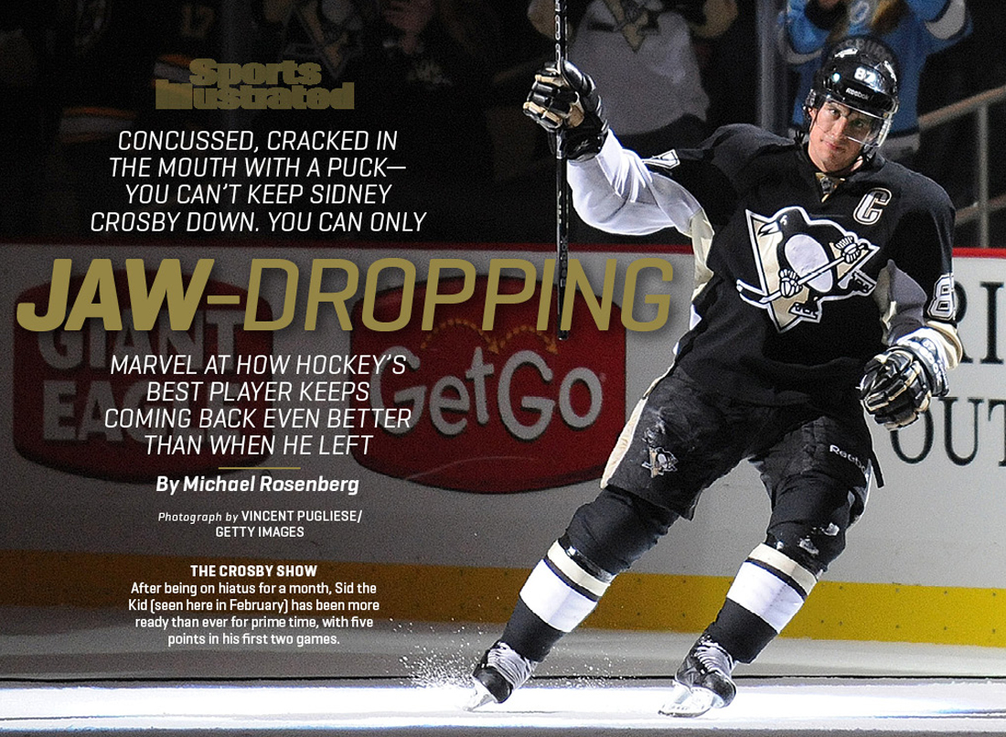 Sports Illustrated | Sidney Crosby