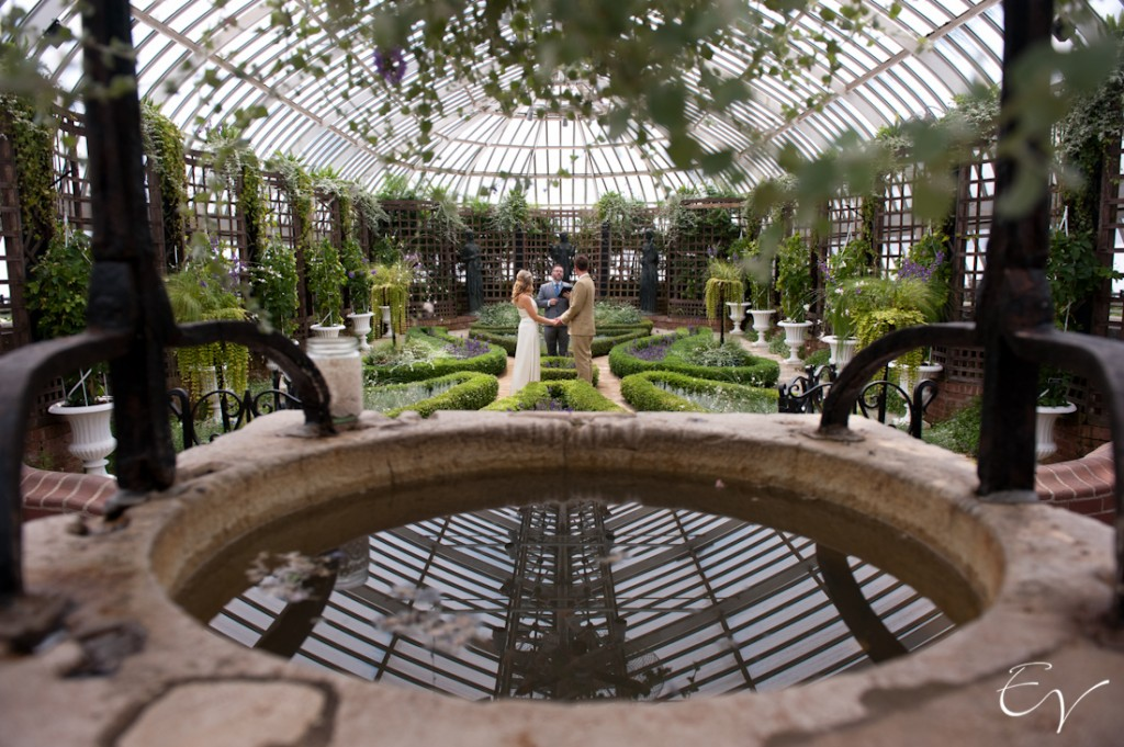 Phipps Conservatory & Botnanical Gardens Wedding