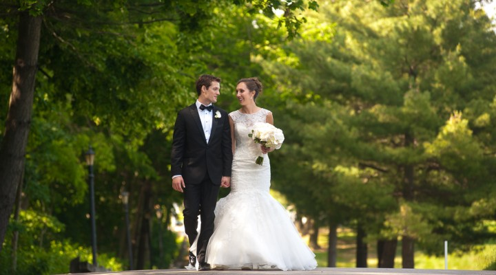 Kelly & Blake | Allegheny Country Club Wedding | St. John and Paul Catholic Church