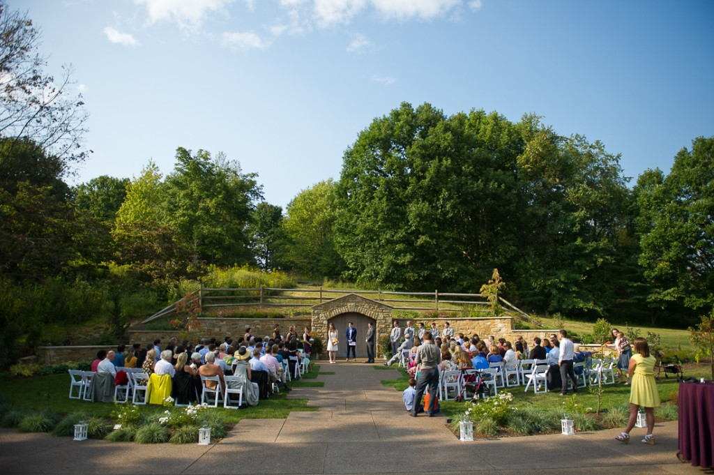 Anne Luke Pittsburgh Botanic Gardens Wedding