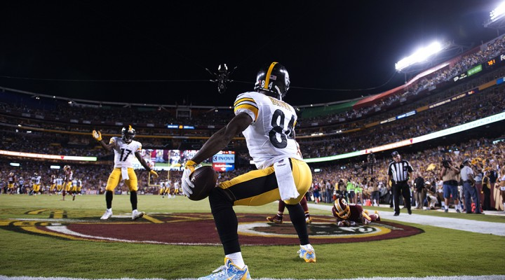 "Antonio Brown's Monday Night Football ""Twerk"""